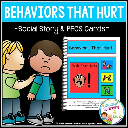 Social Story Behaviors That Hurt Digital Download