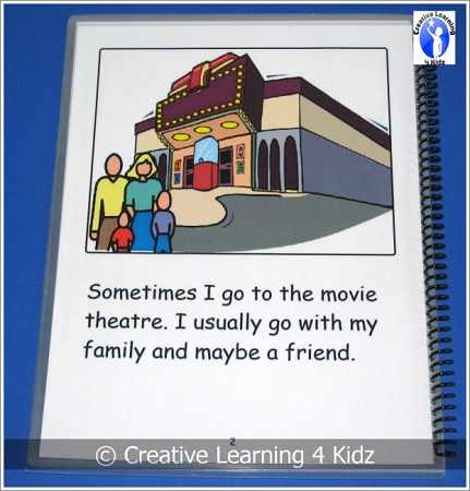 Social Story Going To The Movies Digital Download