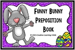 Preposition Funny Bunny Preposition Easter Book ~Digital Download~