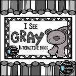 Colors I See Gray Interactive Book ~Digital Download~