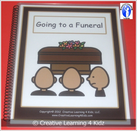 Social Story Going To A Funeral Digital Download