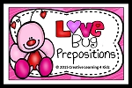 Prepositions Valentine's Day Love Bug Book ~Digital Download~