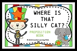 Preposition Where is That Silly Cat? Book ~Digital Download~