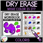 Dry Erase What Color Is It? Workbook: Colors ~Digital Download~