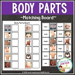 Body Part Matching Board ~Digital Download~