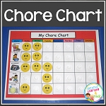 Chore Chart  w/48 PECS ~Digital Download~