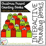 Interactive Counting Books 1-20: Christmas Presents ~Digital Download~