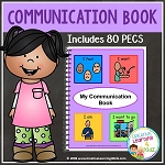 Communication Book w/80 PECS ~Digital Download~