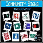 Community Safety Survival Signs & Symbols 135 Cards ~Digital Download~