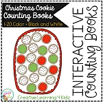 Interactive Counting Books 1-20: Christmas Cookies ~Digital Download~