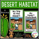 Desert Habitat Books ~Digital Download~