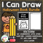 I Can Draw Halloween Book Bundle ~Digital Download~