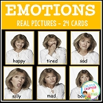 Emotions Feelings Cards ~Digital Download~