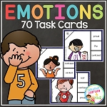 Emotion Task Cards ~Digital Download~