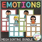 Emotion Sorting Mat Bundle ~Digital Download~