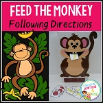 Feed The Monkey Activity ~Digital Download~