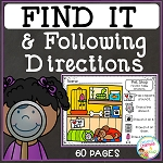 Find It & Following Directions ~Digital Download~