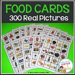 Food Pictures 300 Cards ~Digital Download~