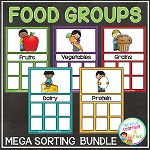 Food Group Sorting Bundle ~Digital Download~