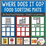 Food Sorting Mats ~Digital Download~