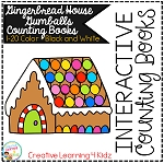 Interactive Counting Books 1-20: Gingerbread House Gumballs ~Digital Download~