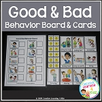 Behavior Matching Board + Flashcards ~Digital Download~