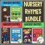 Nursery Rhymes Workbook Bundle ~Digital Download~