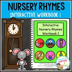 Nursery Rhymes Workbook 1 ~Digital Download~