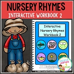 Nursery Rhymes Workbook 2 ~Digital Download~