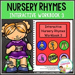 Nursery Rhymes Workbook 3 ~Digital Download~
