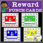 Reward Punch Cards ~Digital Download~