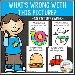 What's Wrong With This Picture Cards ~Digital Download~
