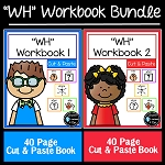 Cut & Paste WH Workbook Bundle ~Digital Download~