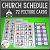 Church Pecs Amp Schedule Digital Download