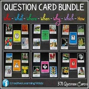 Question Card Bundle 371 Cards ~Digital Download~