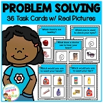 Problem Solving Task Cards ~Digital Download~