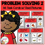 Problem Solving 2 Task Cards ~Digital Download~