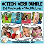 Action Verb Card Bundle ~Digital Download~