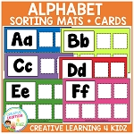 Alphabet Sorting Mats ~Digital Download~
