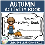 Autumn Fall Activity Book ~Digital Download~
