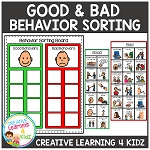Behavior Sorting Board ~Digital Download~