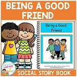 Social Story Being a Good Friend ~Digital Download~