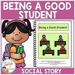 Social Story Being a Good Student ~Digital Download~
