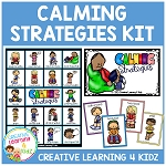 Calming Strategies Kit ~Digital Download~