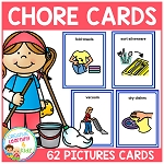 Chore Cards Picture Icons ~Digital Download~