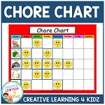 Chore Chart ~Digital Download~