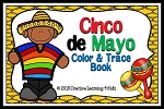 Cinco De Mayo Color & Trace Book ~Digital Download~