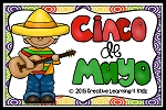 Cinco De Mayo Activity Cut & Paste Book ~Digital Download~