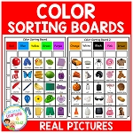 Color Sorting Boards ~Digital Download~