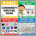 Community & Survival Sign Bundle ~Digital Download~